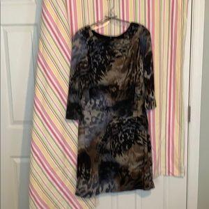 Leopard dress new no tag midnight velvet